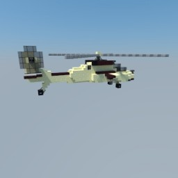 AH-64 Apache Minecraft Map & Project