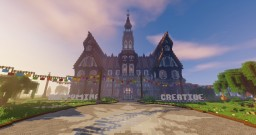 HappyMine Creative Spawn Minecraft Map & Project