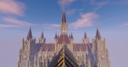 Huge cathedral, Angelum Dei Minecraft Map & Project