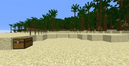 Epic Tropical Island with Volcanoes, Caves, and Custom Trees Minecraft