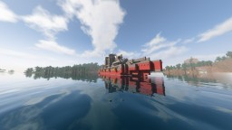 A simple military boat Minecraft Map & Project