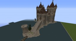 Château seigneurial Minecraft Map & Project