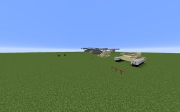 Minecraft Helicopter / Planes / Tanks! Minecraft Map & Project