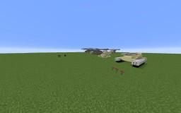 Minecraft Helicopter / Planes / Tanks! Minecraft