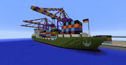 Blockton City Port Minecraft Map & Project