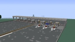 FreeWay Toll Station Minecraft Map & Project