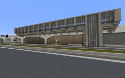 Overground Metro Station | Minerdam Minecraft Map & Project