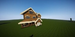This is the house that i am submissioning ( solo build ) Minecraft Blog Post