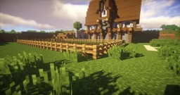 The medieval village Minecraft Map & Project