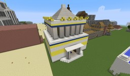 "Age of Mythology Wonder ""Mausoleum at Halicarnassus"" Minecraft Map & Project"