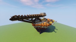 Steampunk Container Crane Minecraft Map & Project