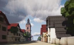 Evangelische Stadtkirche Rüsselsheim, Rüsselsheim am Main, Germany Minecraft