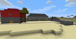 A little village Minecraft Map & Project