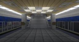 Flower Hills Station - Hanamicraft Rail Transit Minecraft Map & Project
