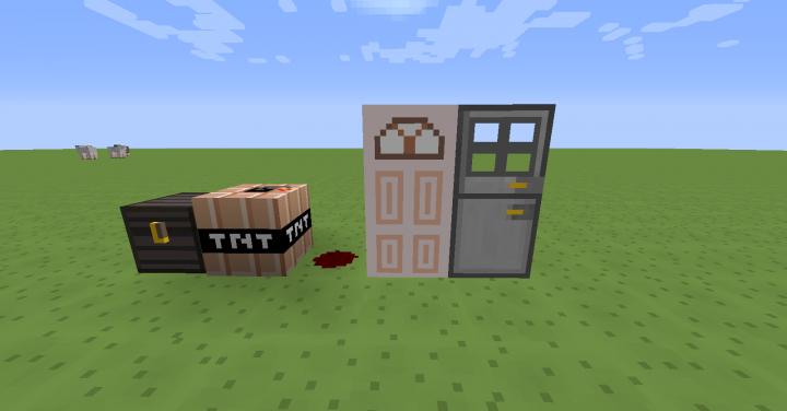 Redstone blocks redesigned