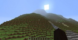 Mountain  With Lakes Minecraft Map & Project