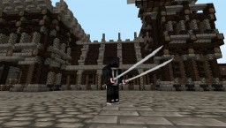 3D Custom Model: Katana Collection Minecraft Map & Project