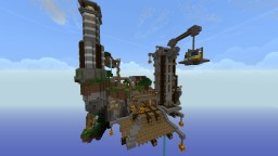 Hub Shanty Town Minecraft Map & Project