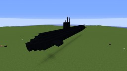 Military Submarine (exterior) Minecraft Map & Project