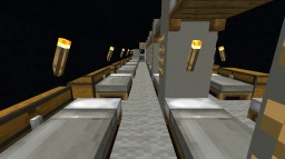 Military Submarine (interior) Minecraft Map & Project