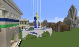 "Age of Mythology Wonder ""Aquarius Fountain"" Minecraft Map & Project"