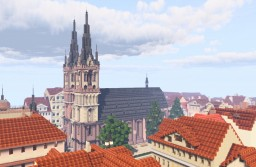 Martinskirche, Kassel, Germany Minecraft