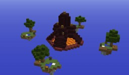 PLAYABLE SKYWARS Minecraft Map & Project