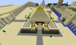 "Age of Mythology Wonder ""Great Pyramid of Giza"" / RP Stand Alone ""Mausoleum of Camassda"" Minecraft Map & Project"