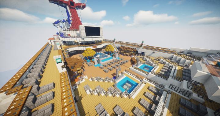 Carnival's Beach Pool