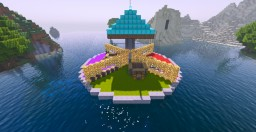 The 4 Team Battledome Minecraft Map & Project