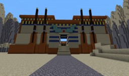 "0AD Wonder ""Temple of Edfu"" / RP Stand Alone ""Horus Temple of Petarum"" Minecraft Map & Project"