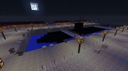 Military Submarine base Minecraft Map & Project