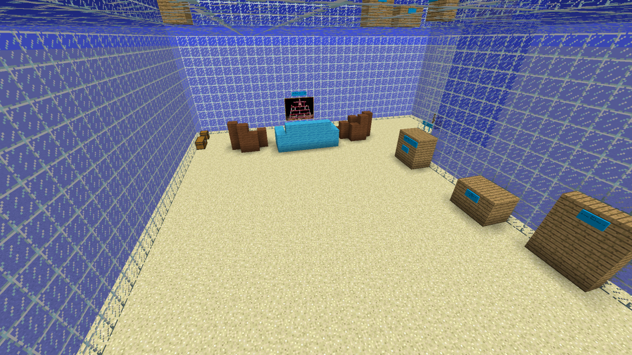 Unspeakable contest (Underwater house) Minecraft Project