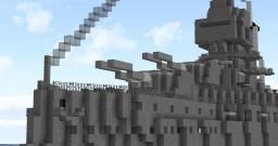HMS Iron Duke (1912) Minecraft Map & Project