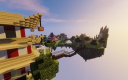Japanese Floating Islands Minecraft Map & Project
