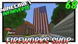 """American Flag Fireworks Station"" [68] Minecraft Bedrock Infiniverse Minecraft Map & Project"
