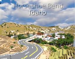Town - Horseshoe Bend, Idaho - Idaho Map Project Minecraft Map & Project