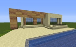 Ronaldo's house in Madrid Minecraft Map & Project