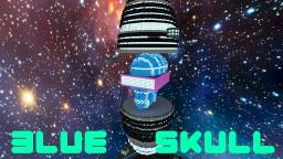 Blue skull Minecraft Map & Project