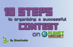 10 Steps to organizing a successful contest on PMC! Minecraft Blog Post