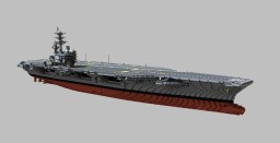 USS Ronald Reagan (CVN-76)  1:1 scale Minecraft