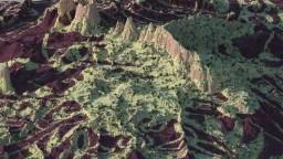 Dragon's Spine - [1000 x 1000 Custom Terrain] Minecraft Map & Project