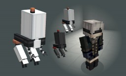 NieR Weapons Pack - NieR and NieR Automata Weapon Models Minecraft
