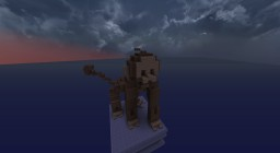 Wooden Monkey Statue Minecraft Map & Project