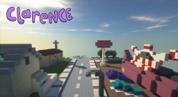 """Aberdale City (W.I.P) """"Clarence"""" Minecraft Map & Project"""