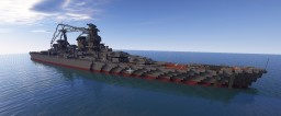 Project 69 Battlecruiser Kronshtadt Minecraft