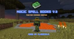 Magic Spell Books Version II Function Command Creation Minecraft