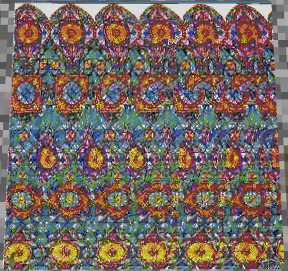 Magic Eye Map Art! Can you see the hidden image?