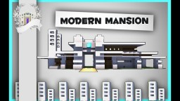 Minecraft: How To Build An Easy Modern Mansion House Tutorial #1 Minecraft Map & Project