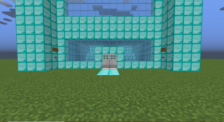 Diamond House Minecraft Map